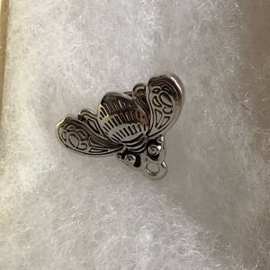 Patron Tequila Bug Pin Sterling Silver